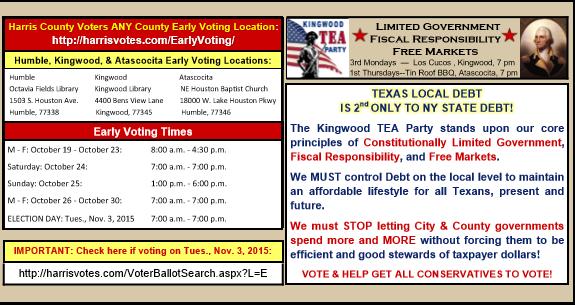 2015 City of Houston Election 2