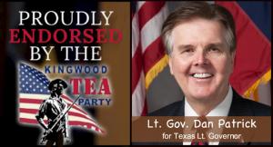 Lt. Gov. Dan Patrick for TX Lt. Gov.